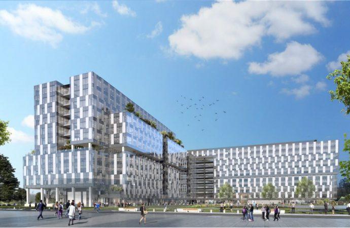 Începe construcția unui ansamblu imobiliar mixt pe fosta platformă Ventilatorul. Vizavi va fi stația de metrou Academia Militară