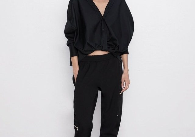 Pantalonii negri: 5 modele la moda in toamna 2019