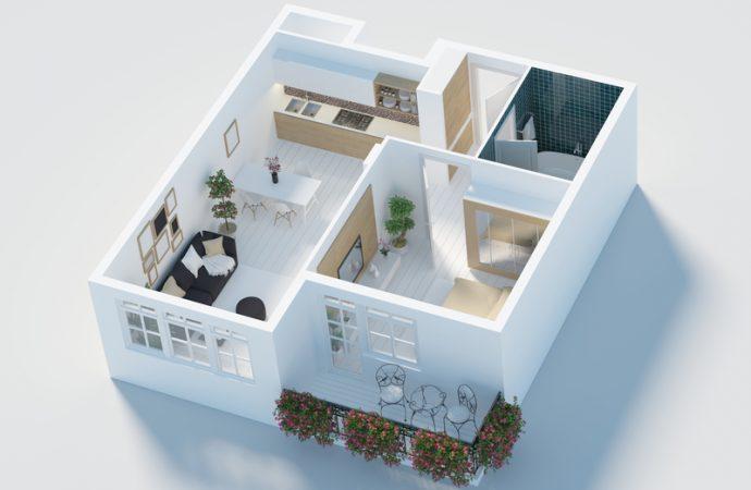 """Vrei un apartament cu mai mult de două camere? Vei fi, probabil, afectat de noul program """"O familie, o casă"""""""