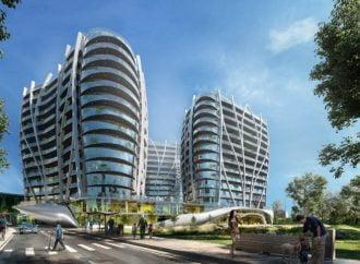 Crown Towers, un nou complex imobiliar mixt pe harta Capitalei: 230 de apartamente, birouri, retail și centru de agrement